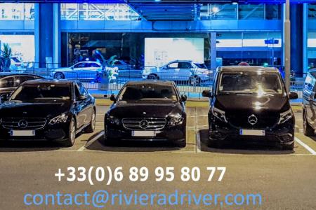 Notre flotte de véhicules avec chauffeur à Nice Sophia Antipolis