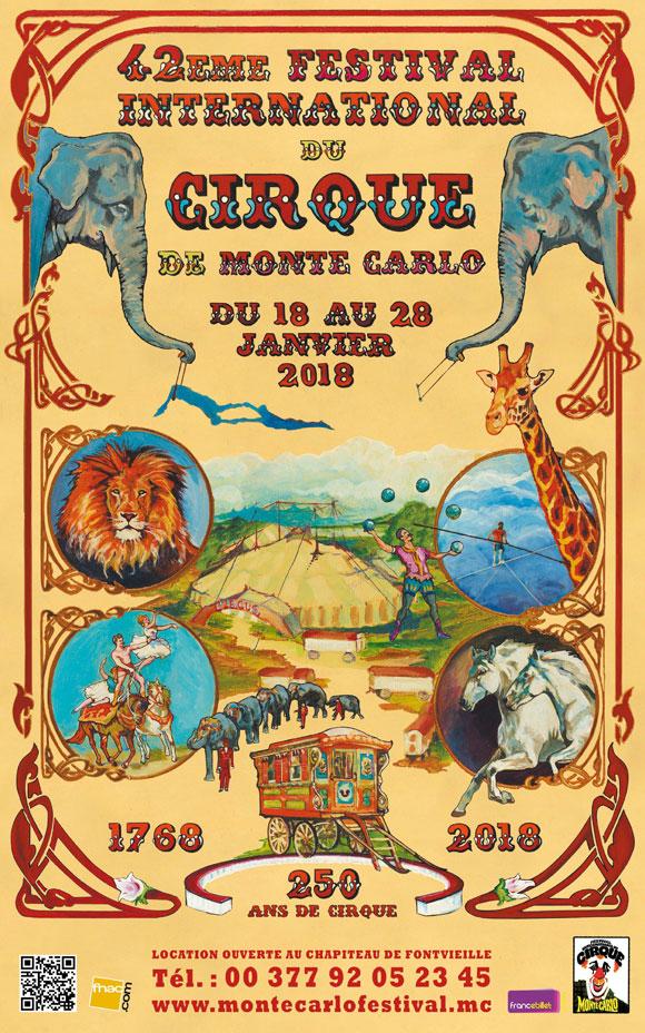 Rendez-vous au Festival International du Cirque de Monte Carlo avec Riviera Driver
